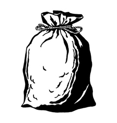 Bag of coins vector