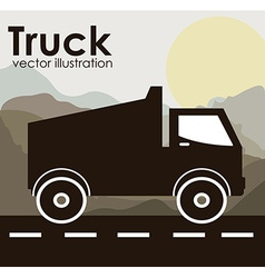 Transportation design vector