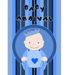 Baby arrival vector