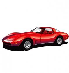 Corvette vector