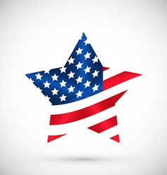 Patriotic united states of america usa vector