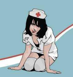 Nurse vector