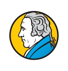 Engineer and inventor james watt vector