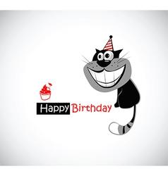 Happy birthday kats vector