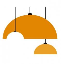 Lamp bulb vector