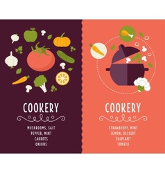 Cooking collection composition vector