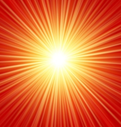 Realistic sun burst with flare with spare f vector