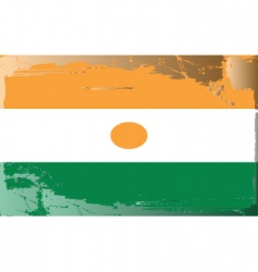 Niger national flag vector