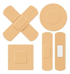 Medical bandage vector