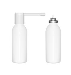 Bottle spray vector