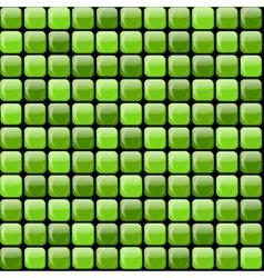 Shiny green pile vector