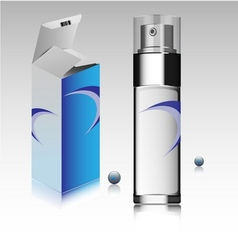 Fragrance bottle vector