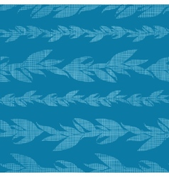 Blue vines stripes textile textured seamless vector