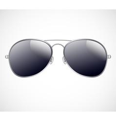Aviator sunglasses background vector
