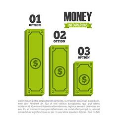 Money infographics vector