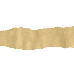 Old fragmentary paper border vector