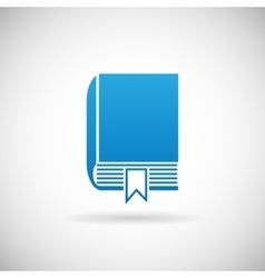 Study bookmark symbol book icon design template vector