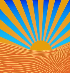Background sun beams vector