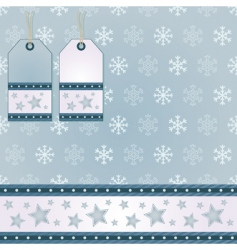 Snowflake wrapping vector