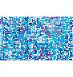 Winter mosaic vector