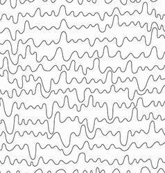 Monochrome curved line seamless vector