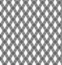 Abstract black line pattern on white background vector