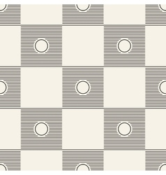 Seamless square pattern tile background geometric vector