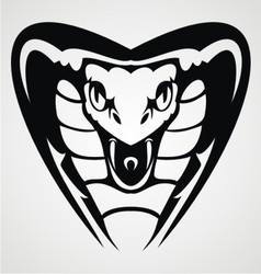 Cobra head tribal vector