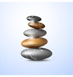 Spa stones vector