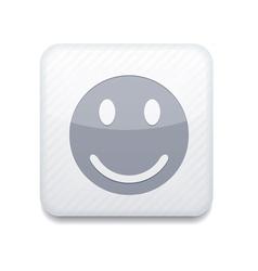 White smile icon eps10 easy to edit vector
