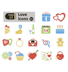 Valentines icon vector