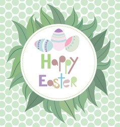 Easter green vector
