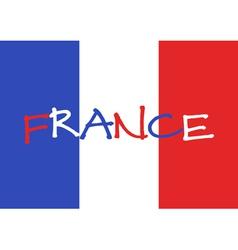 France 2016 football poster france flag background vector