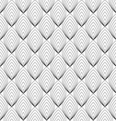 Abstract black line pattern vector