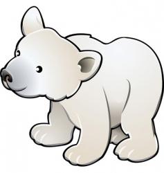 Polar bear vector