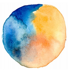 Watercolor spot vector