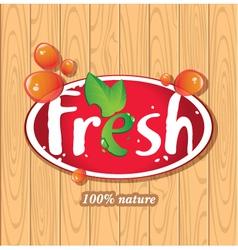 Fresh juices juice drinks vector