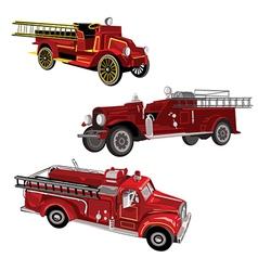 Firetrucks vector