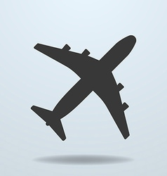 Icon of plane vector