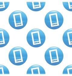 Smartphone sign pattern vector