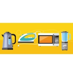 Household appliance for home vector