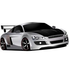 Custom race car vector