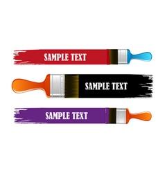 Brush flejts vector