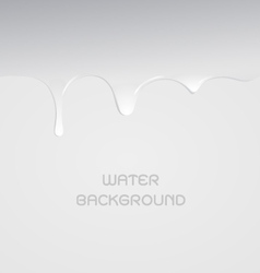Water drop for background vector