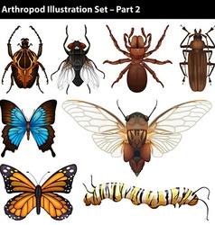 Arthropods vector
