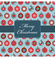 Red and blue christmas wrapping vector