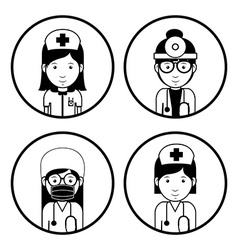 Health professional design vector