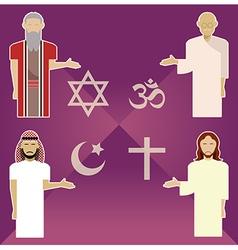 Religions vector