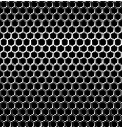 Seamless texture metal grid background vector