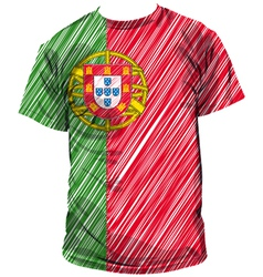 Portugal tee vector